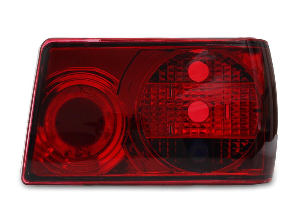 Par Lanterna Traseira Chevette 83 84 85 86 87 88 89 90 91 92 93 Modelo RED
