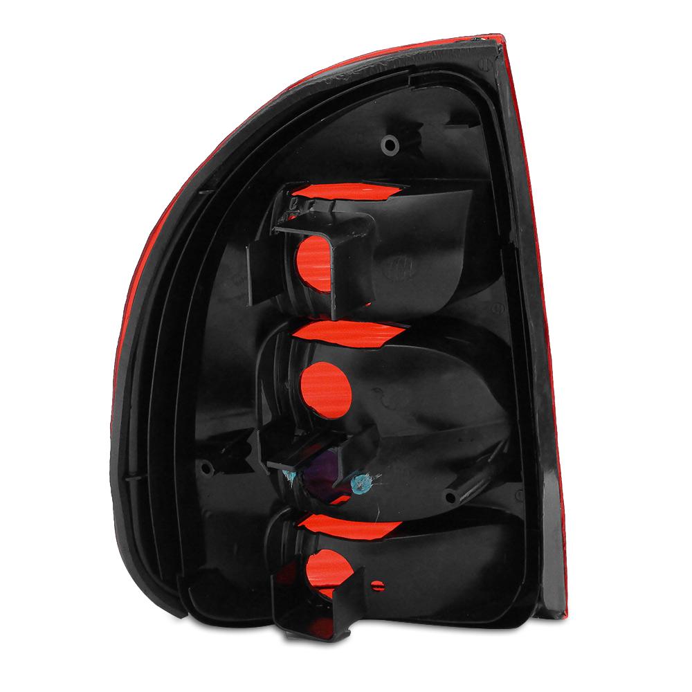 Par Lanterna Traseira Corsa Sedan Classic 02 03 04 05 06 07 08 09 10 Modelo RED