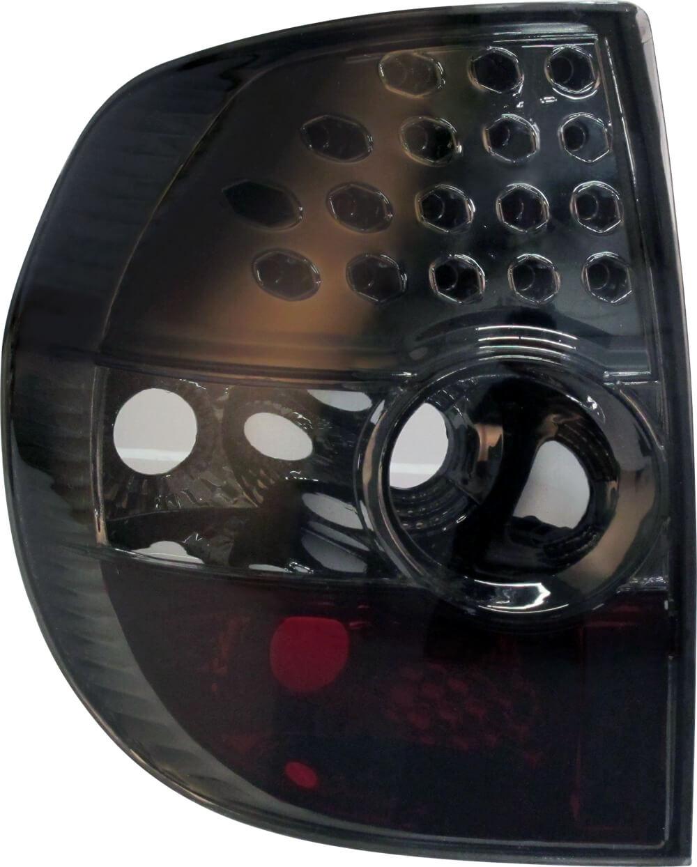 Par Lanterna Traseira Fox Crossfox 03 04 05 06 07 08 09 Fumê Com Efeito LED