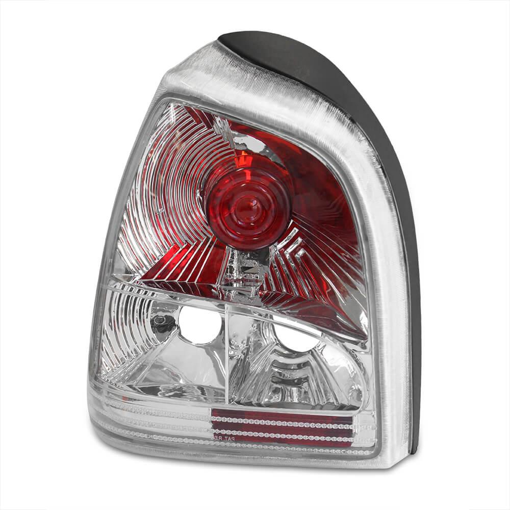 Par Lanterna Traseira Gol Bola 95 96 97 98 99 00 Gol Special 01 02 03 Encaixe Arteb Mod. Cristal