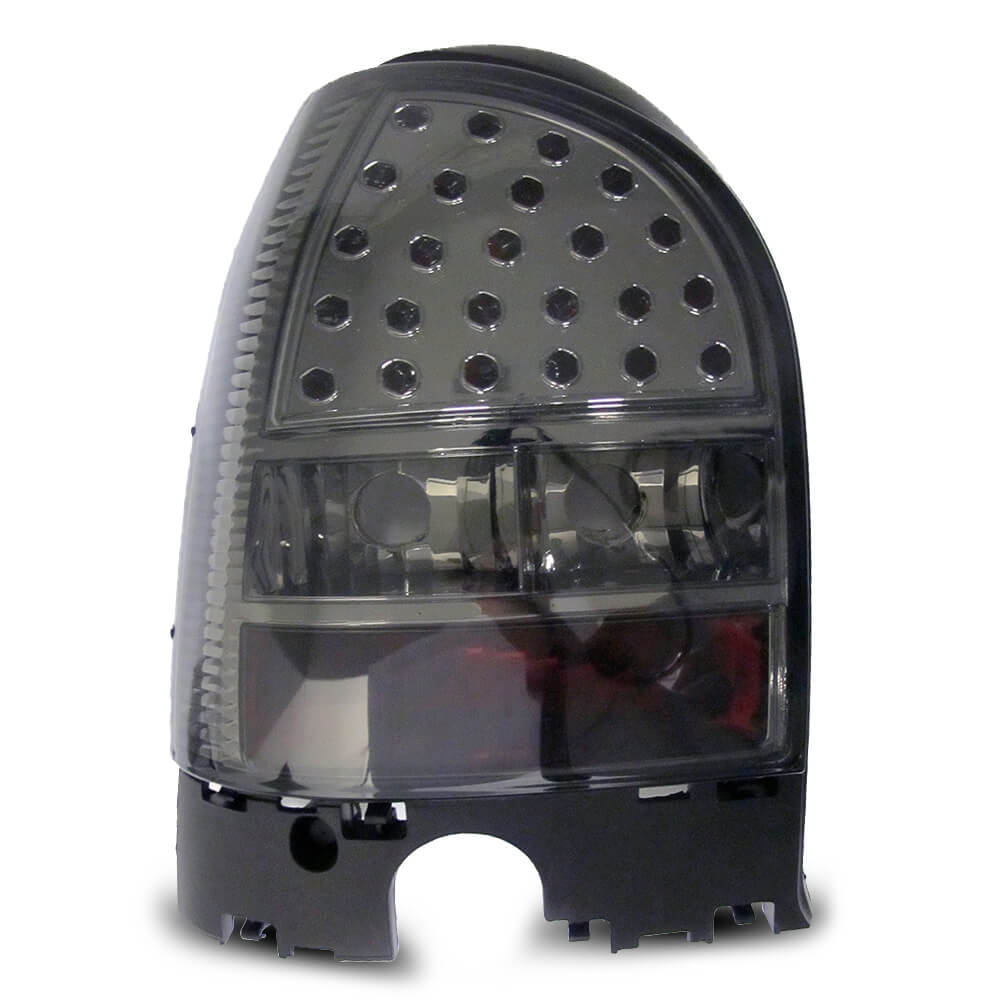 Par Lanterna Traseira Gol G3 00 01 02 03 04 05 Fumê Com Efeito LED