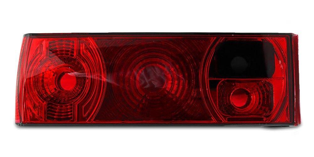 Par Lanterna Traseira Gol Quadrado 87 88 89 90 91 92 93 94 95 96 Modelo RED