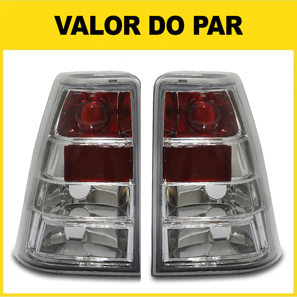 Par Lanterna Traseira Kadett 89 90 91 92 93 94 95 96 97 98 Cristal