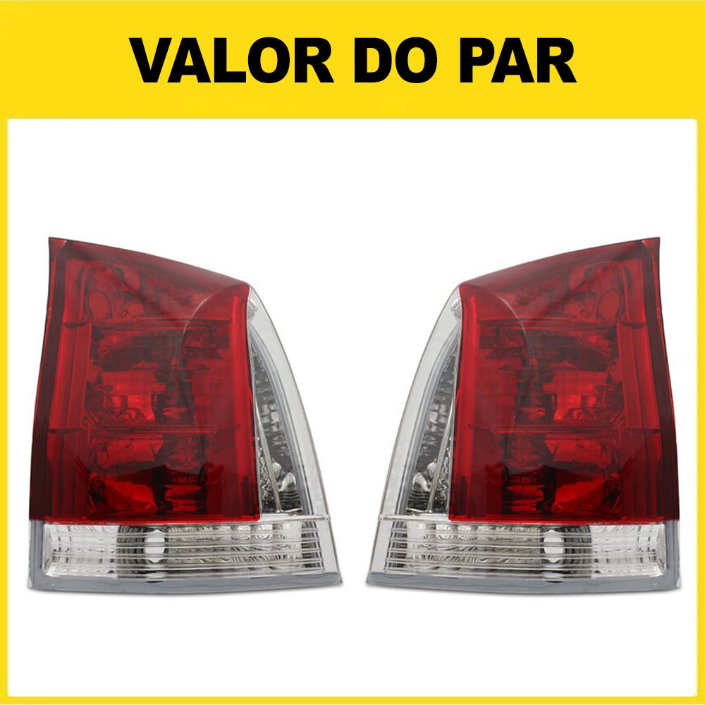 Par Lanterna Traseira Palio G3 04 05 06 07 08 09 10 11 12 13 14 15 16 Bicolor