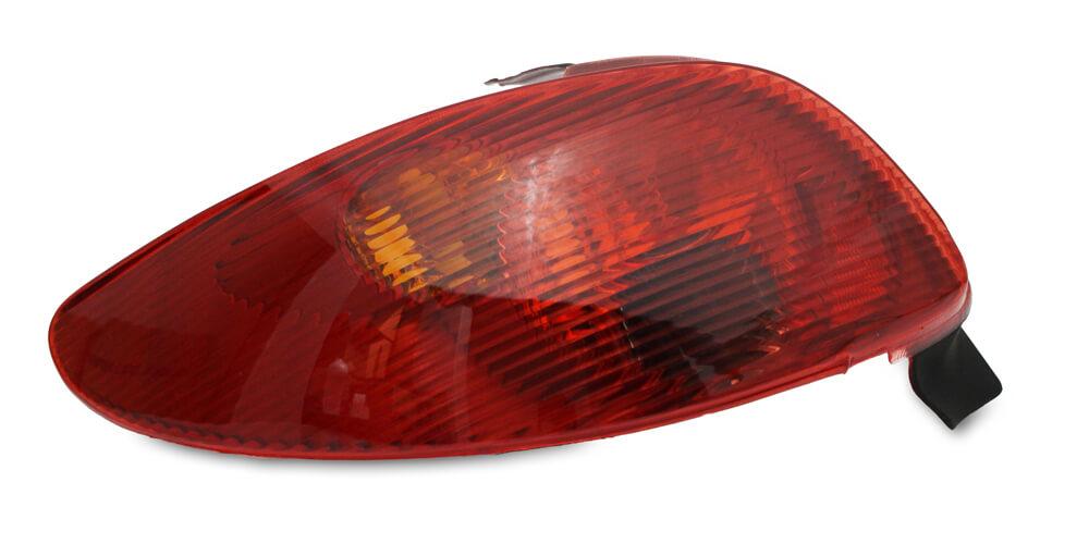 Par Lanterna Traseira Peugeot 206 e 206 CC 96 97 98 99 00 01 02 03 04 05 06 07 08 Modelo Original