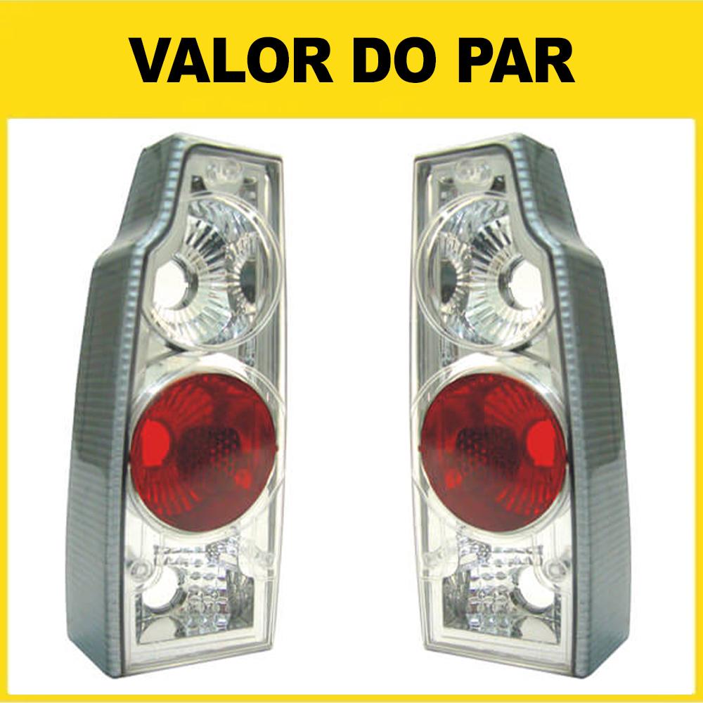 Par Lanterna Traseira Saveiro Parati 83 84 85 86 87 88 89 90 91 92 93 94 95 96 97 Cristal