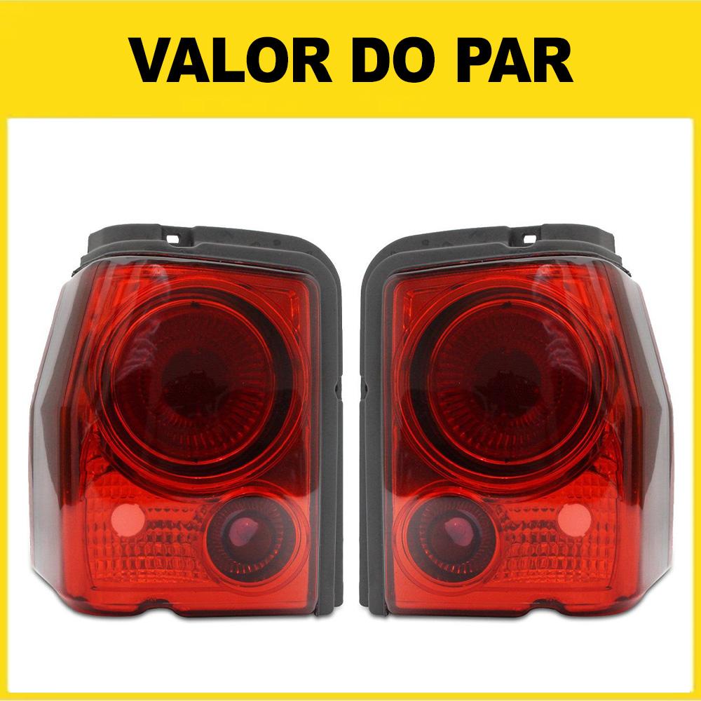 Par Lanterna Traseira Tipo 93 94 95 96 97 Modelo RED