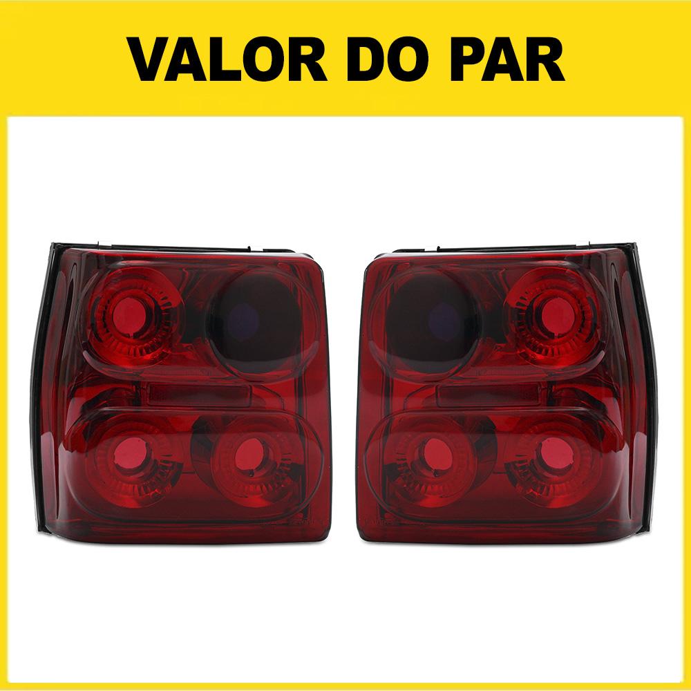 Par Lanterna Traseira Uno 84 85 86 87 88 89 90 91 92 93 94 95 96 97 98 99 00 01 02 03 Modelo RED