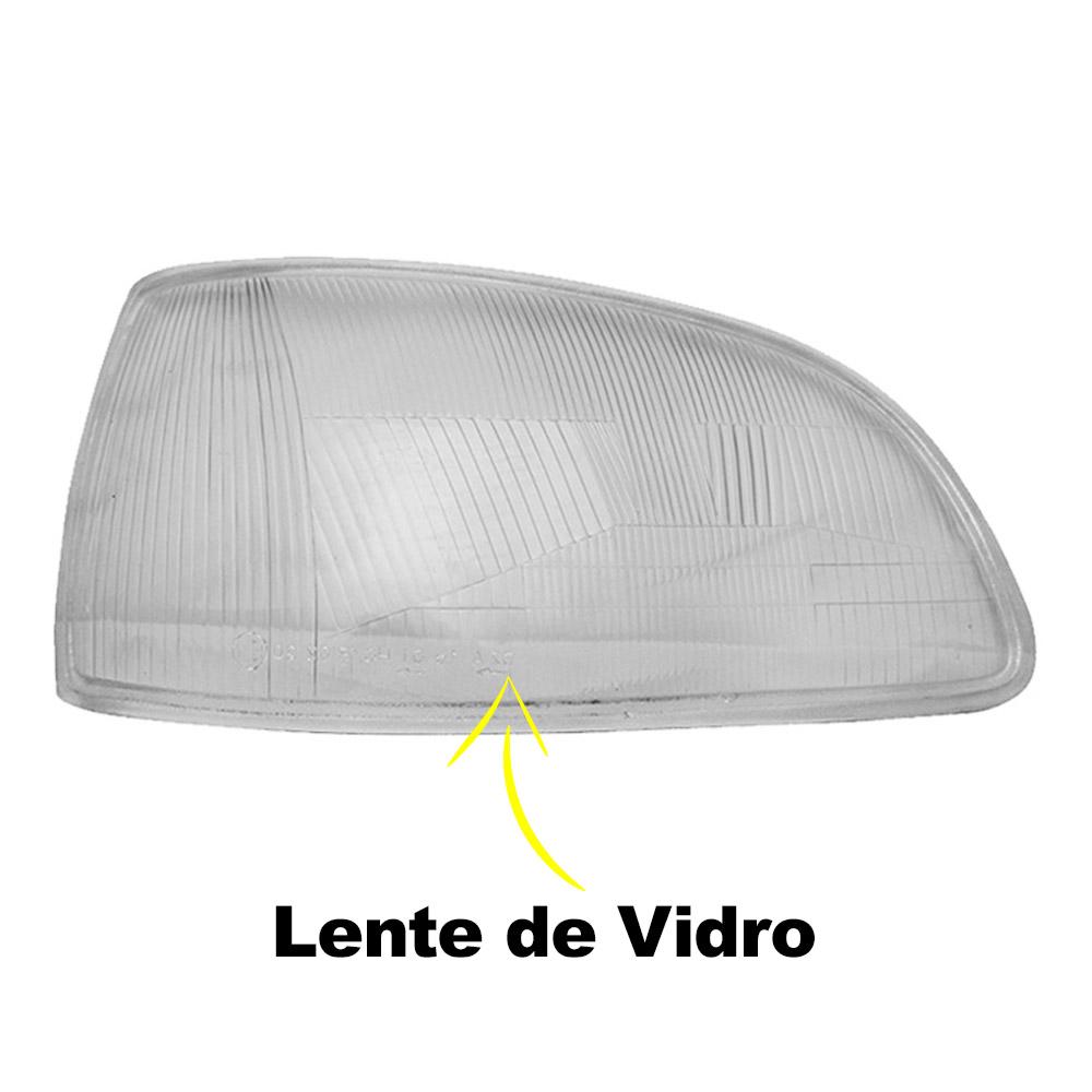 Par Lente Farol Clio 93 94 95 96 97 98 Vidro