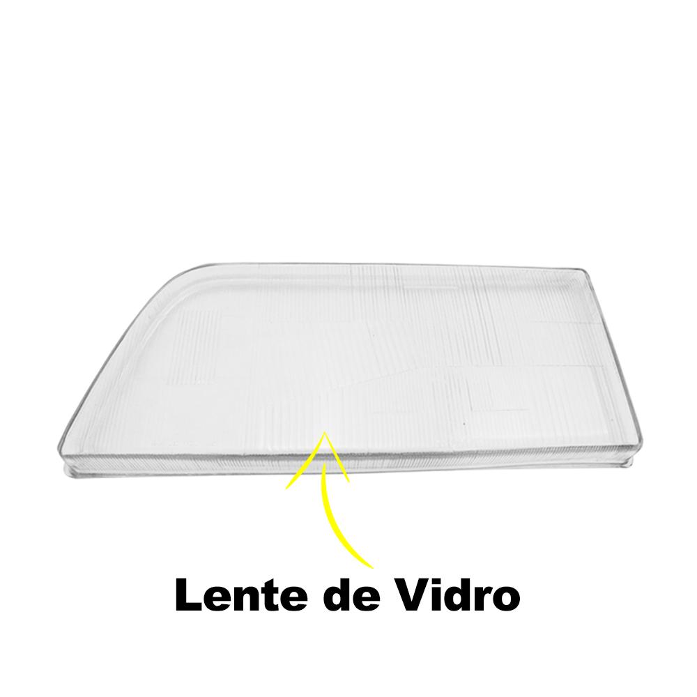 Par Lente Farol D10 D20 D40 Veraneio Bonanza 93 94 95 96 Vidro