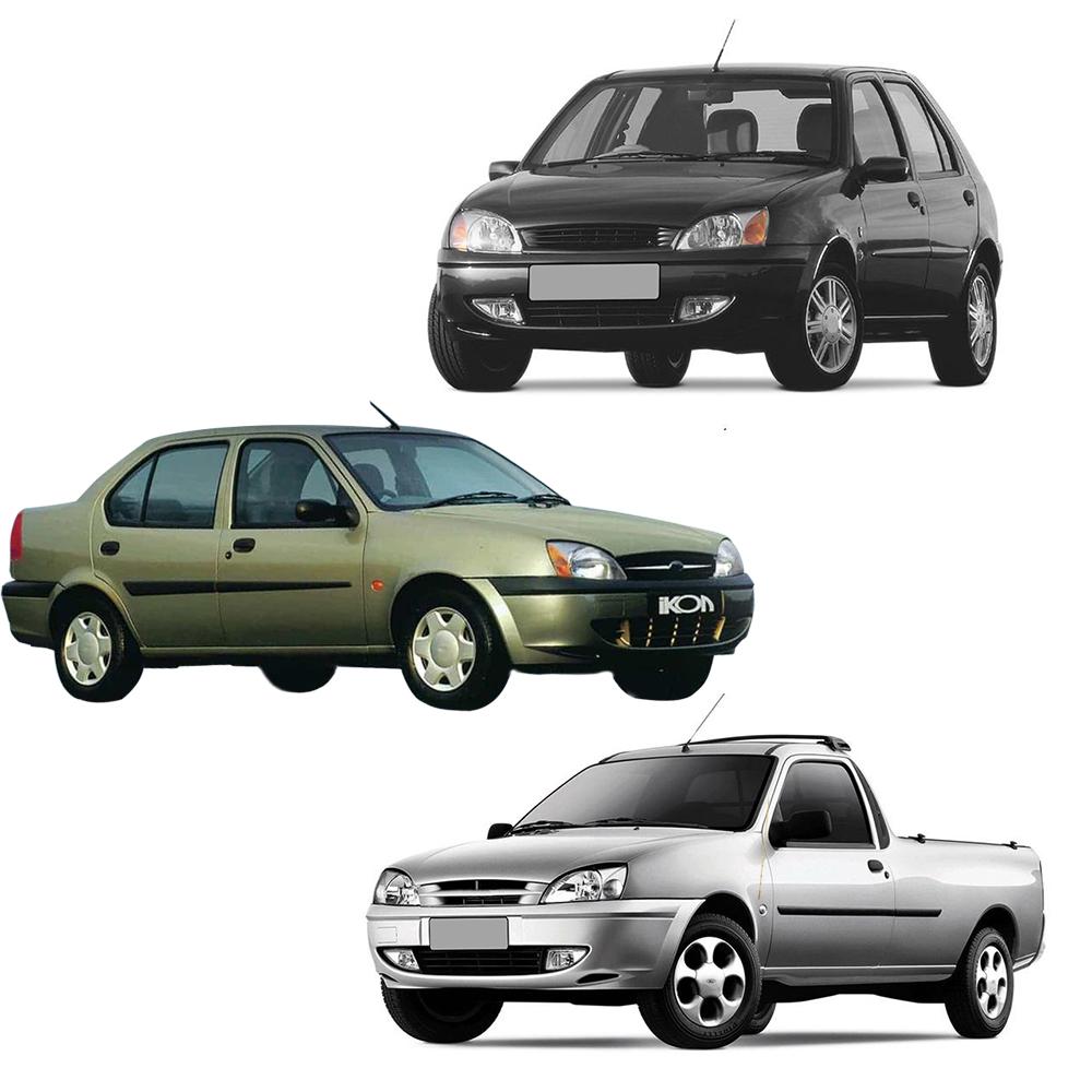 Par Lente Farol Fiesta Hatch e Sedan 00 01 02 03 Courier 00 01 02 03 04 05 06 07 08 09 10 11 12 13 Vidro