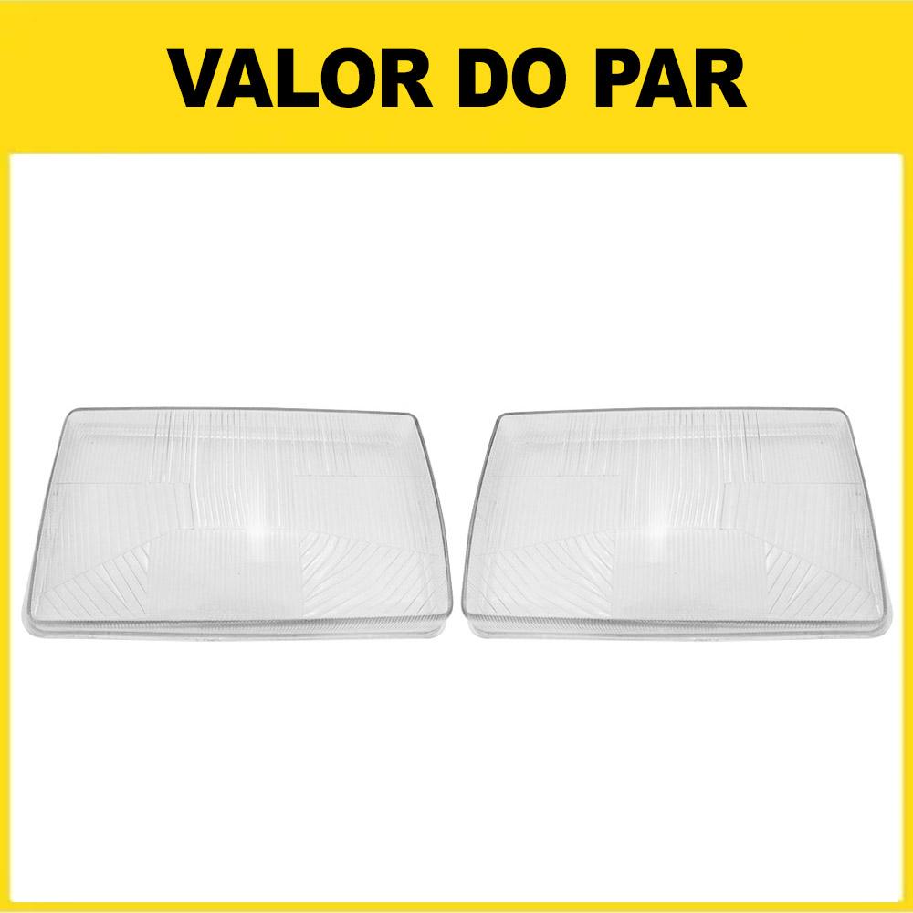 Par Lente Farol Ford Cargo 91 92 93 94 95 96 97 98 99 00 01 02 Vidro