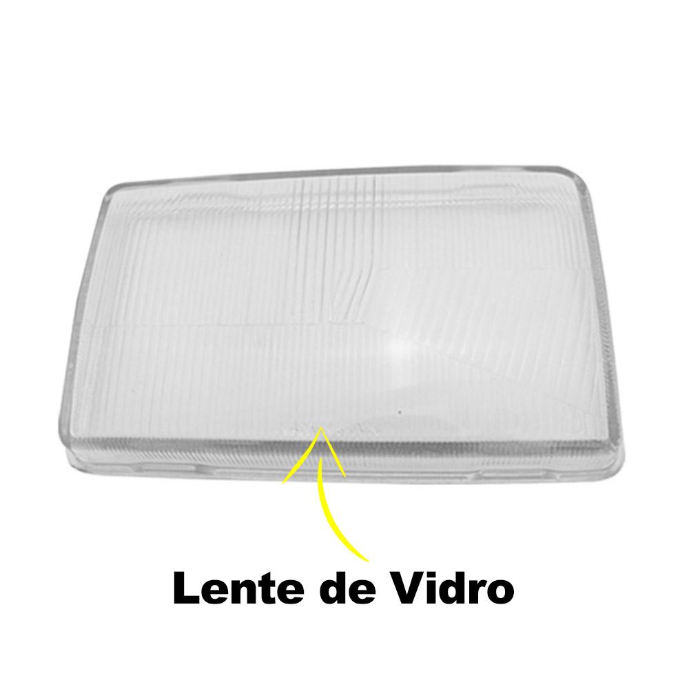Par Lente Farol Santana Quantum 85 86 87 88 89 90 Vidro