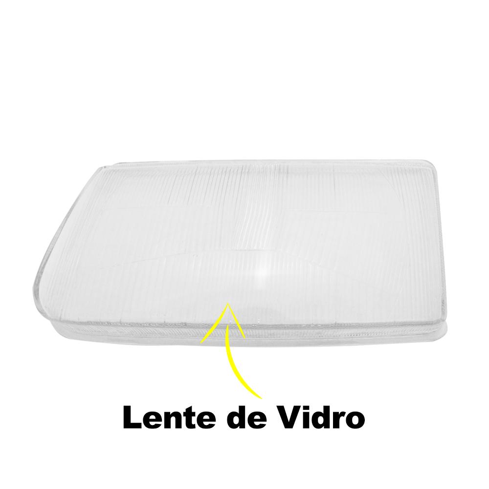 Par Lente Farol Santana Quantum 99 00 01 02 03 04 05 06 Vidro
