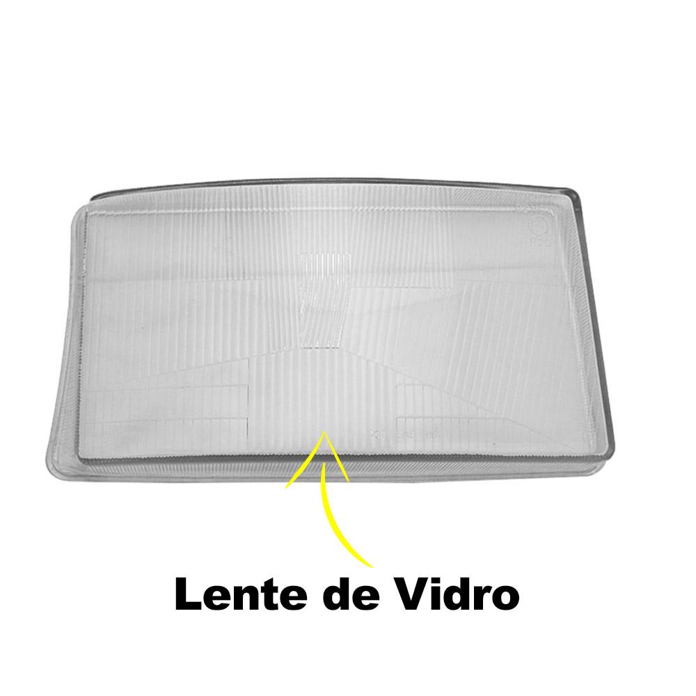 Par Lente Farol Scania 124 e Série 4 98 99 00 01 02 03 04 05 06 Vidro