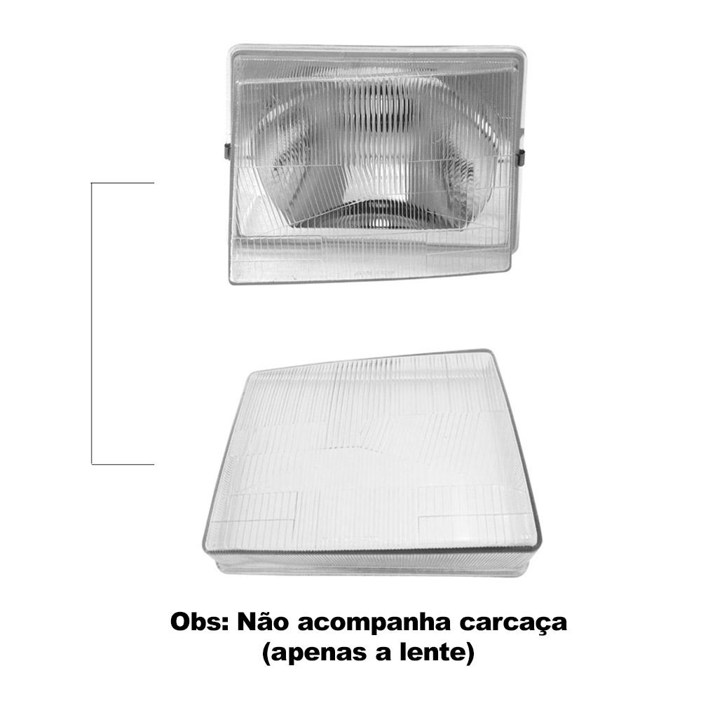 Par Lente Farol Uno Fiorino Prêmio Elba 85 86 87 88 89 90 Vidro