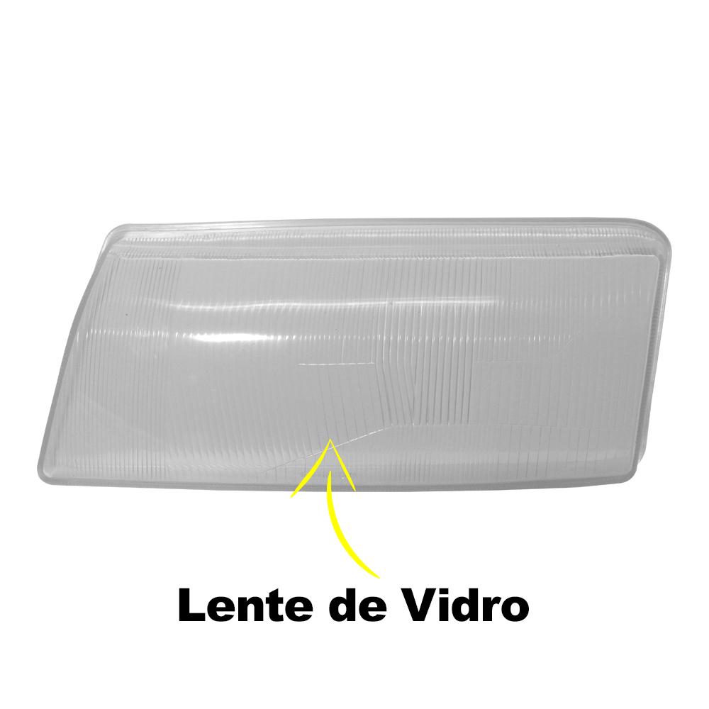 Par Lente Farol Vectra 94 95 96 Vidro