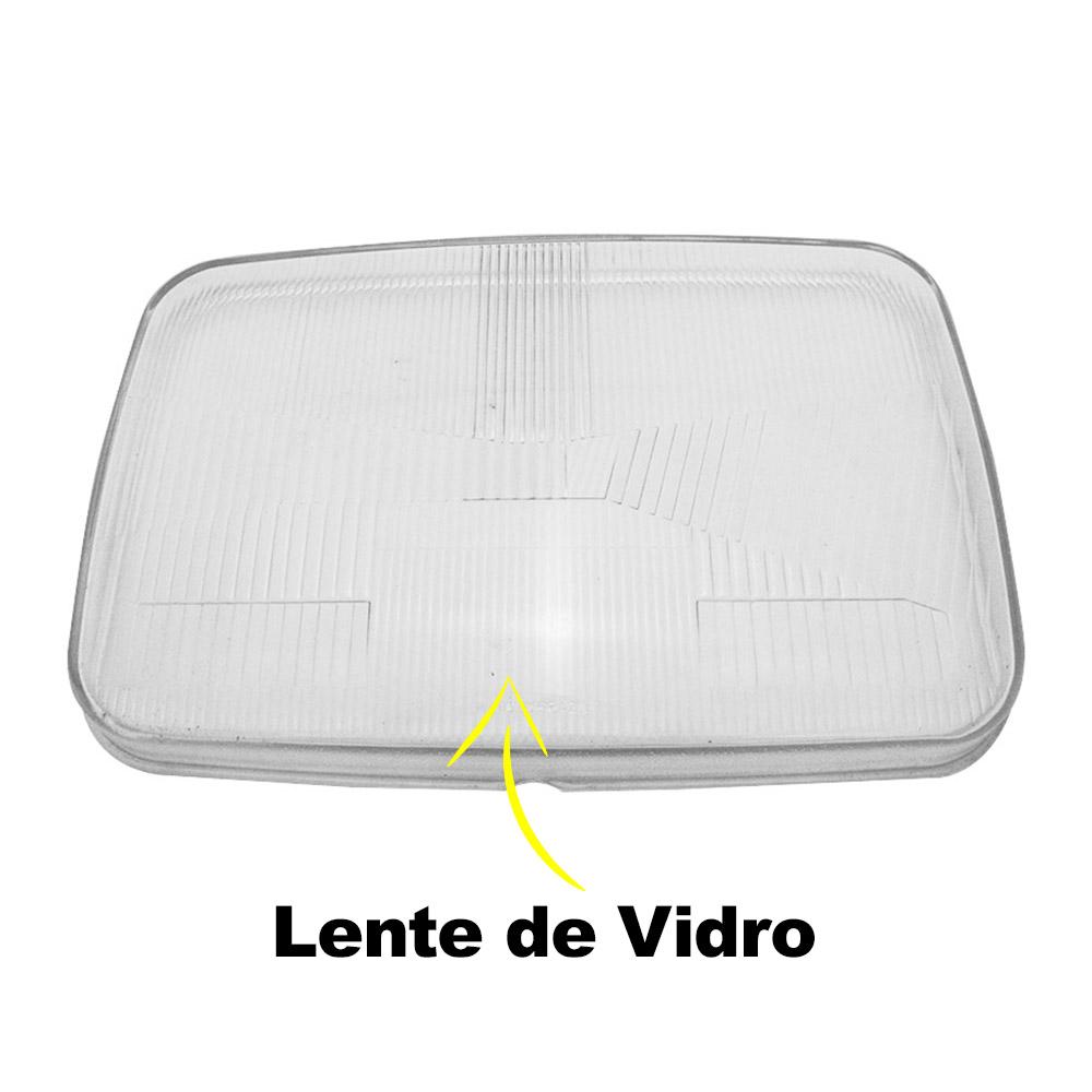 Par Lente Farol Volvo FH FM 97 98 99 00 01 02 03 Vidro