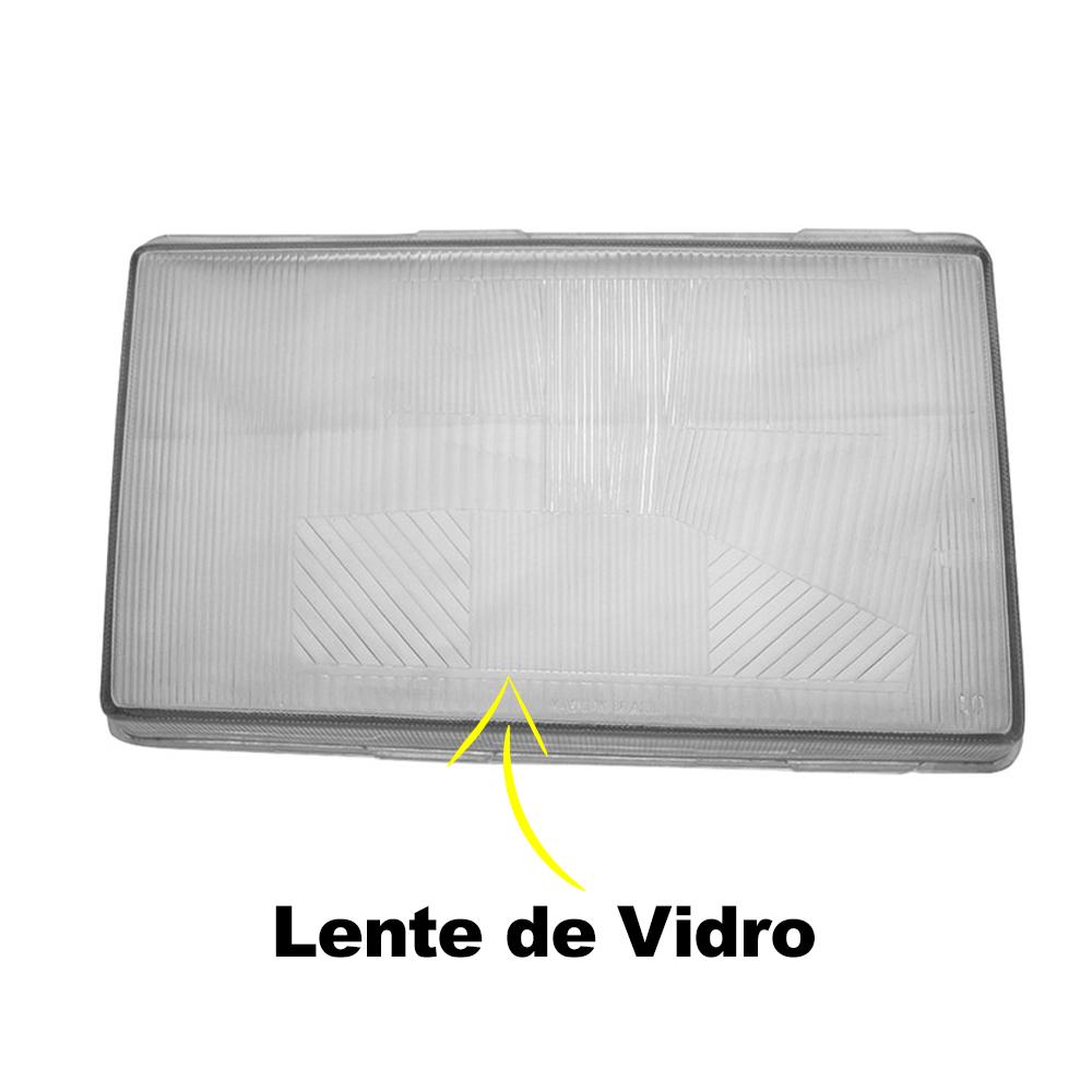 Par Lente Farol Volvo NL 87 88 89 90 91 92 93 94 95 96 97 Vidro