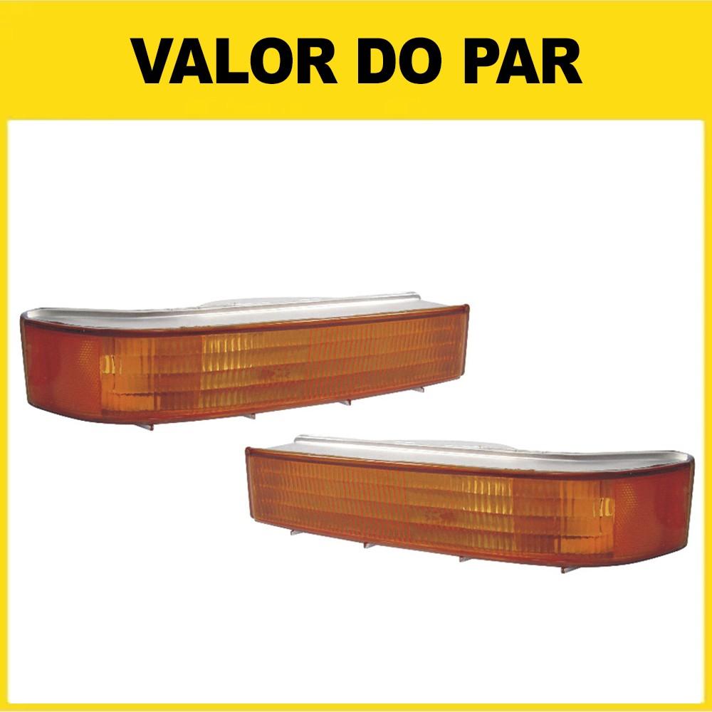 Par Pisca Inferior F1000 F4000 97 98 99 00 Âmbar