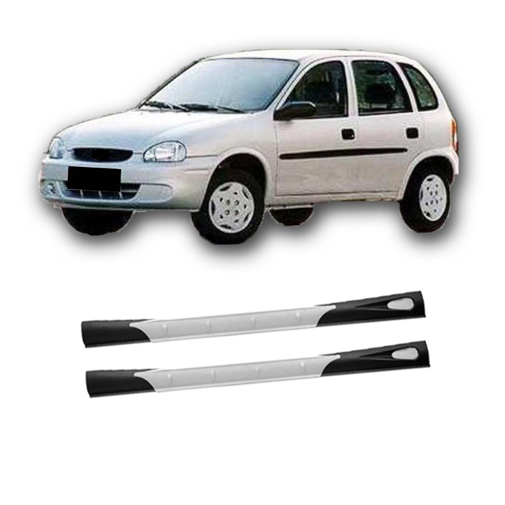 Spoiler Lateral Corsa Classic 03 04 05 06 07 A 2010 Carwing  - Artmilhas