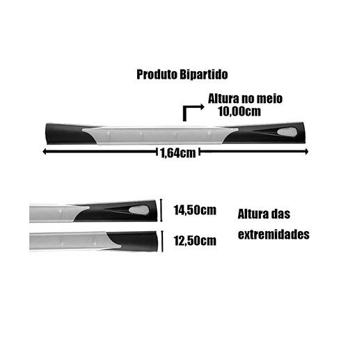 Spoiler Lateral Corsa Classic 03 04 05 06 07 A 2010 Flywind  - Artmilhas