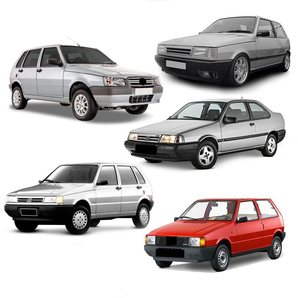 Spoiler Lateral Fiat Brava 1999 2000 01 02 03 Aplique Prata  - Artmilhas