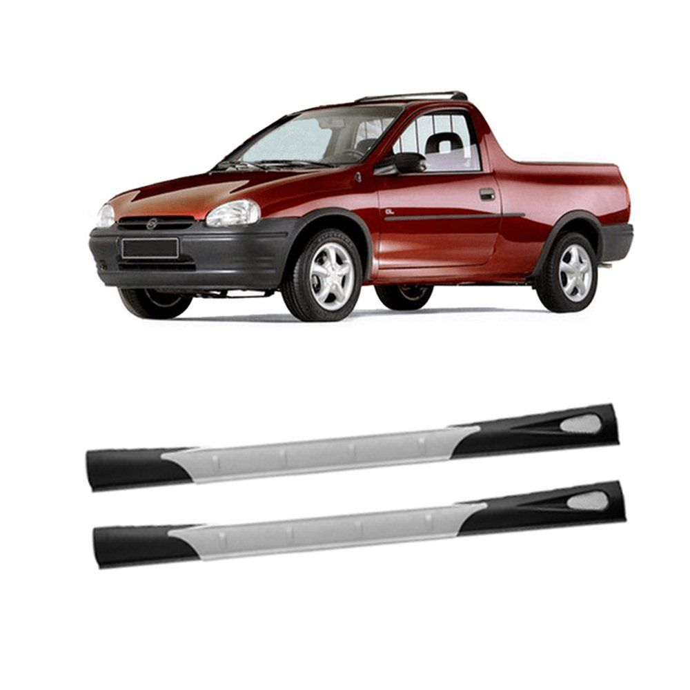 Spoiler Lateral Pickup Corsa 1994 1995 1996 A 2003 Flywind  - Artmilhas