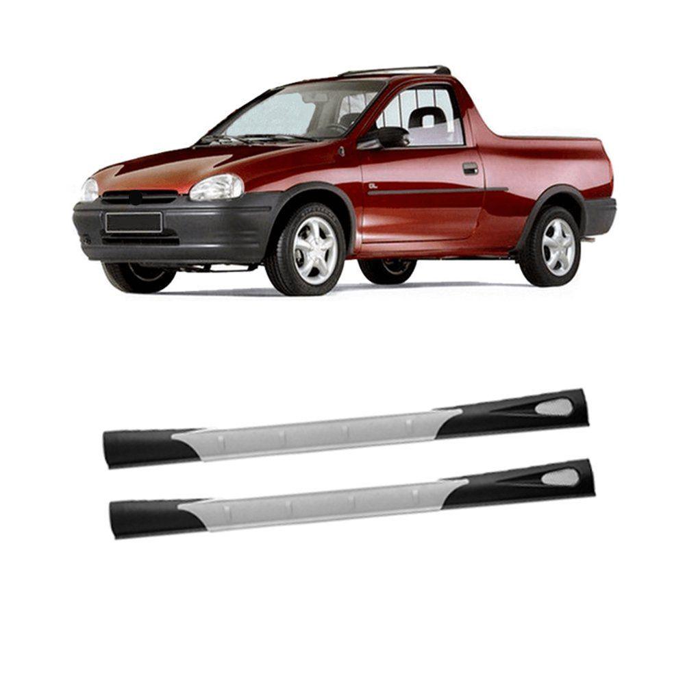 Spoiler Lateral Pickup Corsa 1994 1995 1996 A 2004 Carwing  - Artmilhas