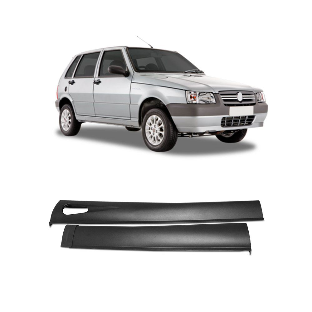 Spoiler Lateral Uno 85 A 2013 2p Palio G5 12/14 Tuning #1259  - Artmilhas