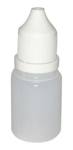 200 Frasco conta gotas gotejador de plástico 10 ml