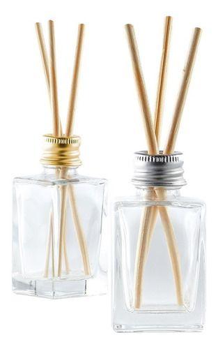 Vidro para Aromatizador de 30 ml com varetas kit com 100 unid