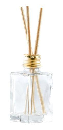 Vidro para Aromatizador de 30 ml com varetas kit com 50 unid