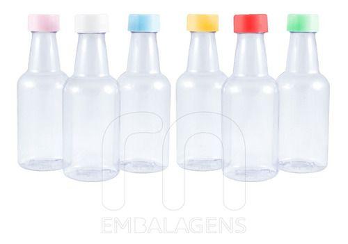Garrafinhas Plásticas Para Lembrancinhas Pvc Mini 100 unid
