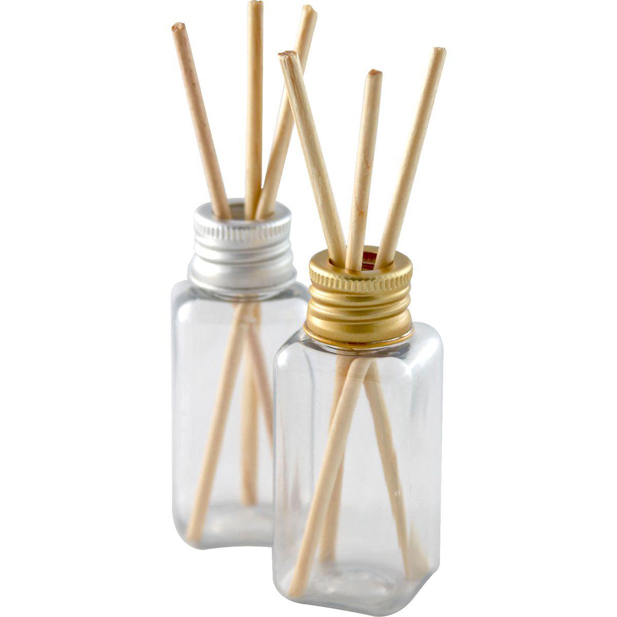 Frasco para Aromatizador Atacado Plástico de 40 ml kit com 50 unidades