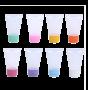 Bisnaga para Lembrancinha Plástica 30 ml kit com 10 unidades