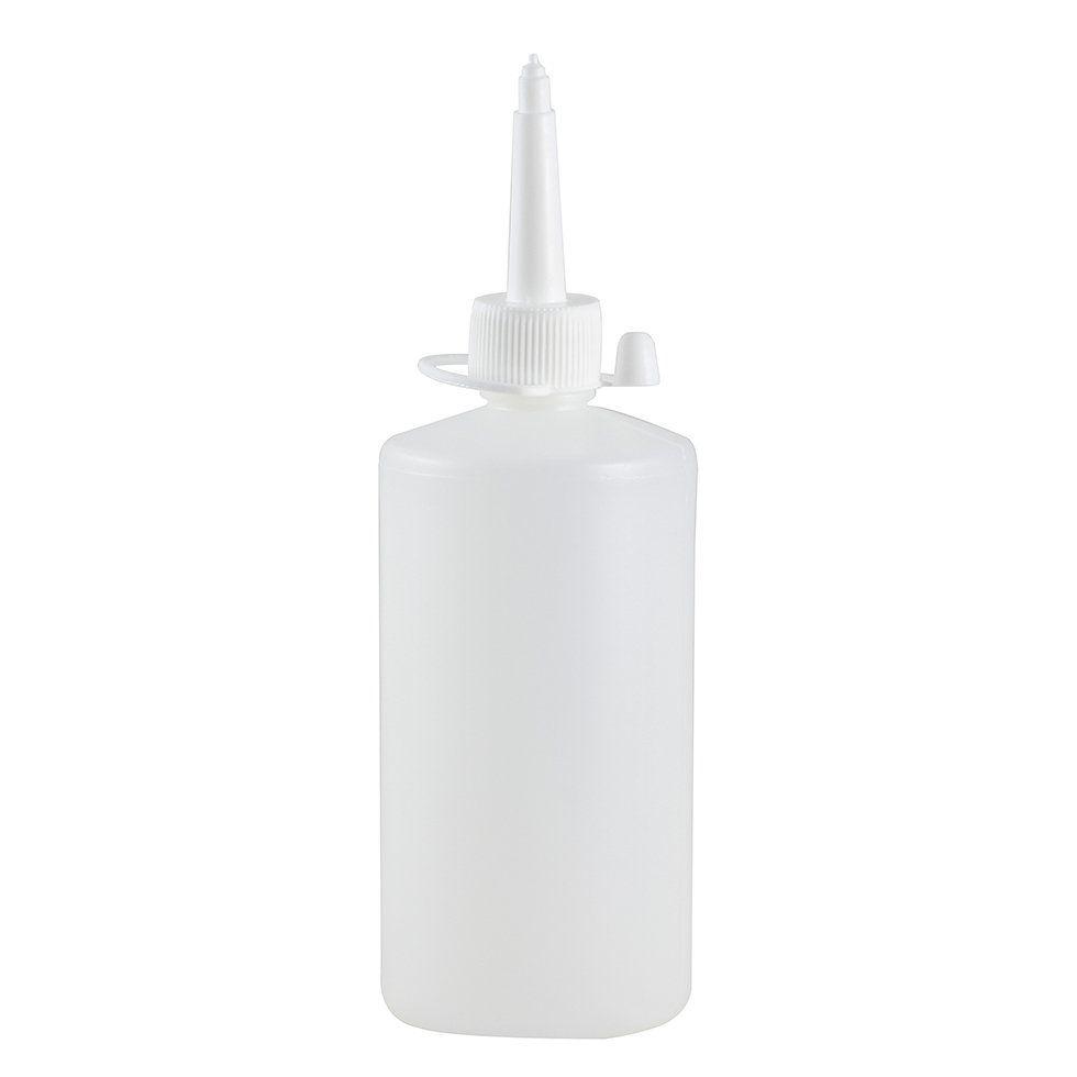 Almotolia de plástico 200 ml com bico reta (10 unid.)
