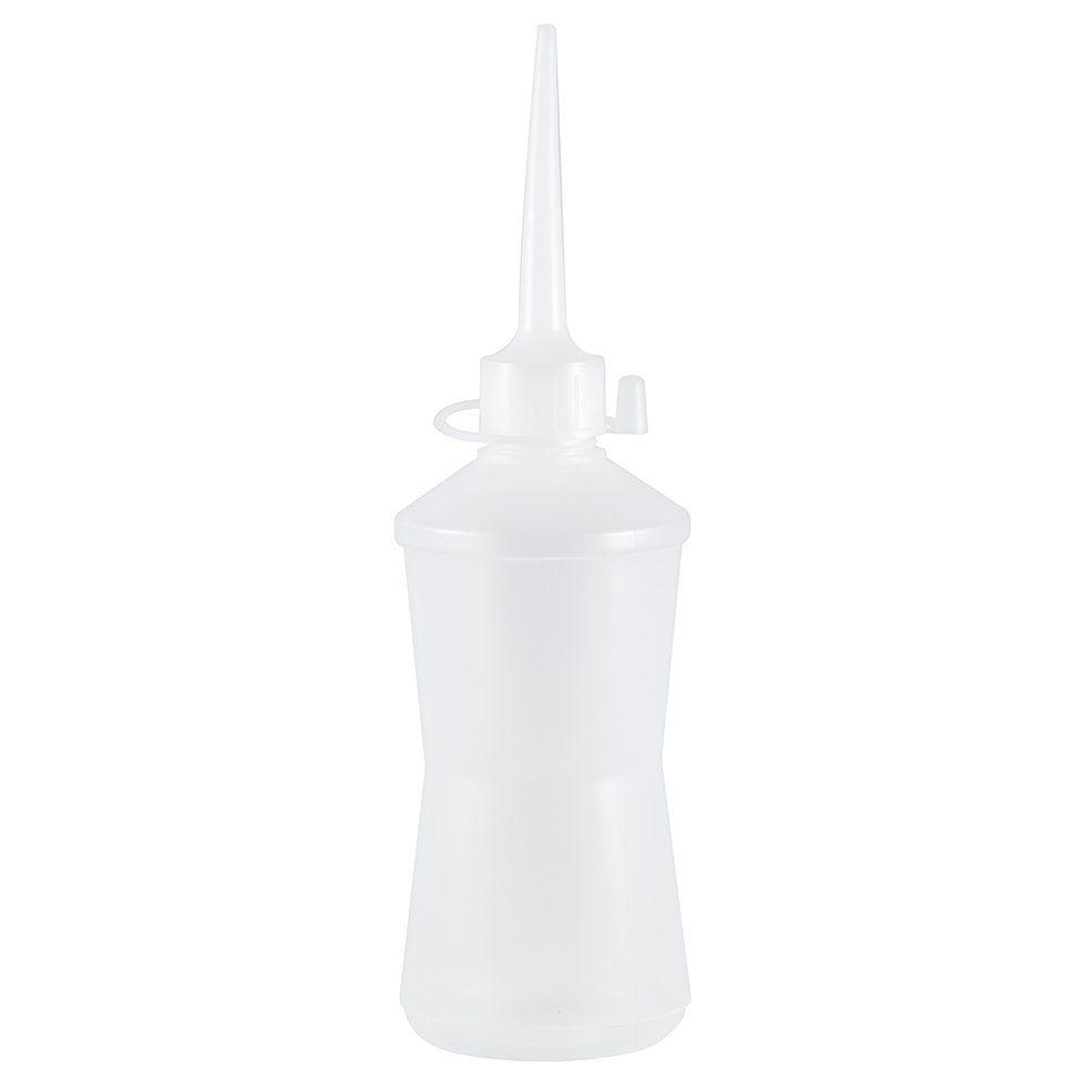 Almotolia de plástico 500 ml com bico reta Cinturinha (10 unid.)