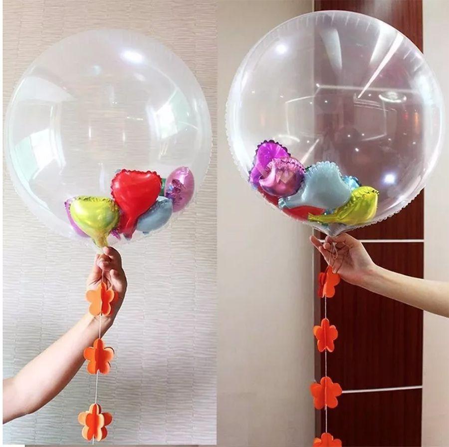 """Balão Bubble de 24"""""""