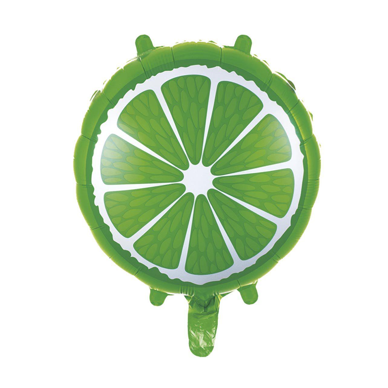 Balão Metalizado Limão 45 cm