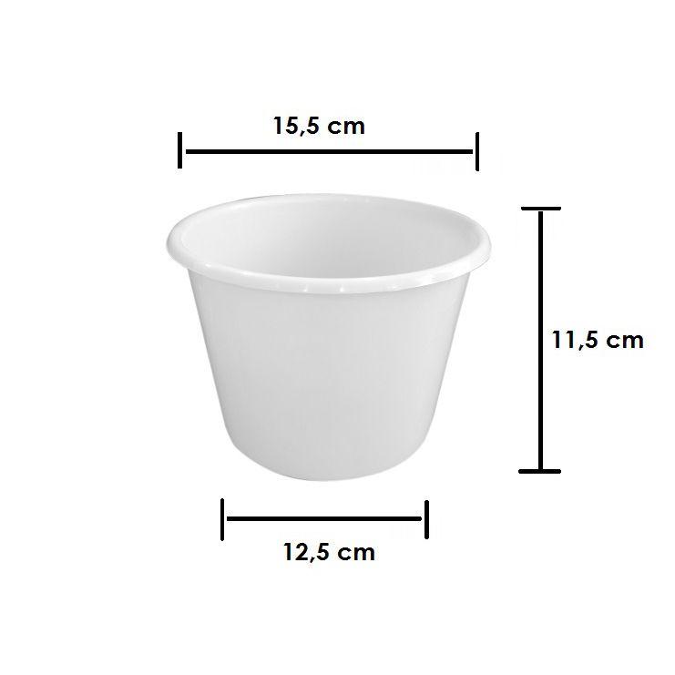 Balde de Pipoca para Lembrancinha 1.5 Litro kit com 10 unid