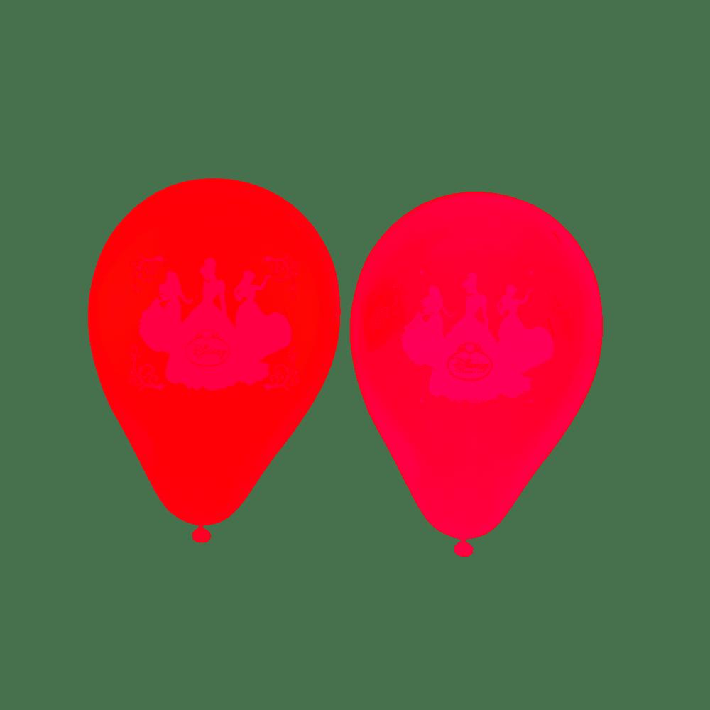 Balões de Aniversário Bexigas das Princesas da Disney pacote com 25 unid