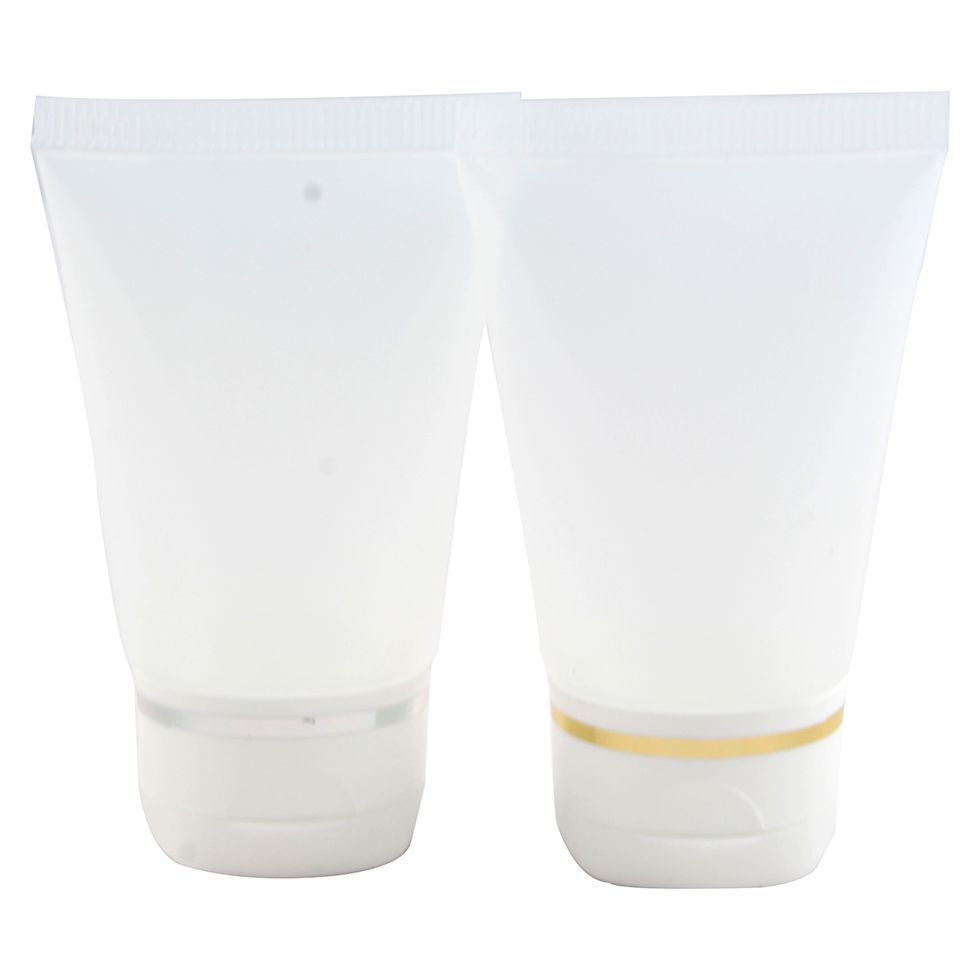 Bisnaga para Hidratante de 30 ml Flip Top Luxo kit com 10 unid