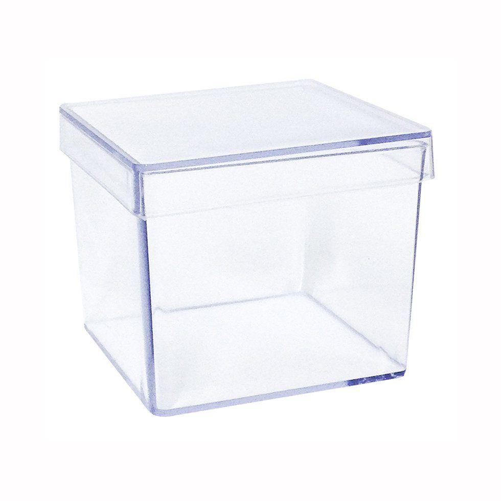 Caixinha de Acrílico para Lembrancinhas 5x5x5 kit com 10 unid