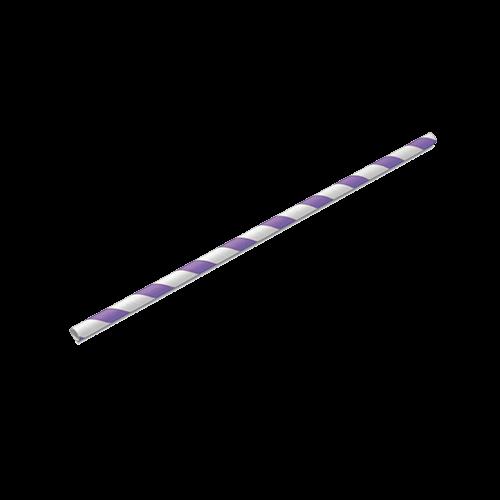Canudo de Papel Lilás Pacote com 20 unid