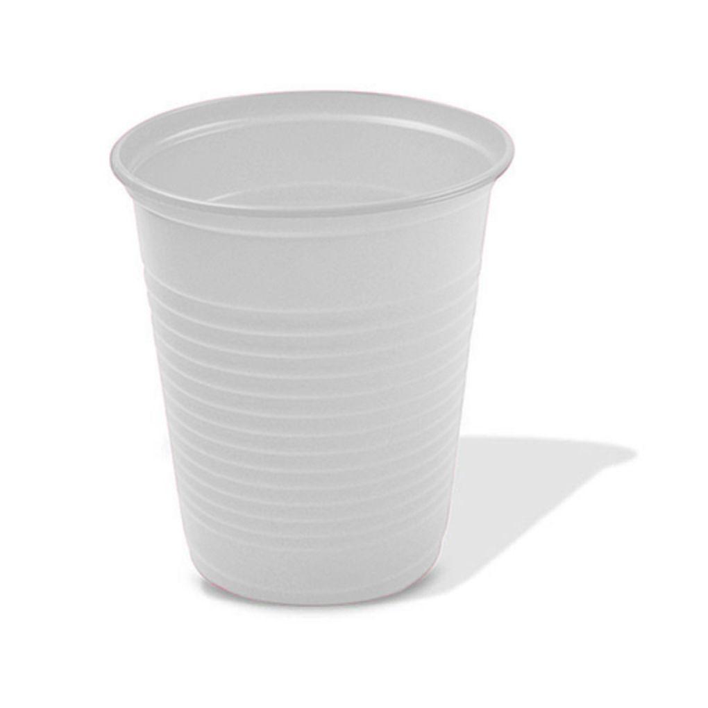 Copo Descartável Simples de 200 ml Branco pacote com 50 unid.