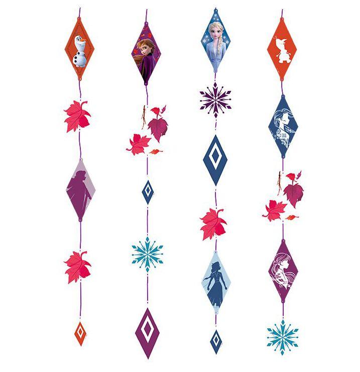Cortina de decoração de Festa Frozen 2