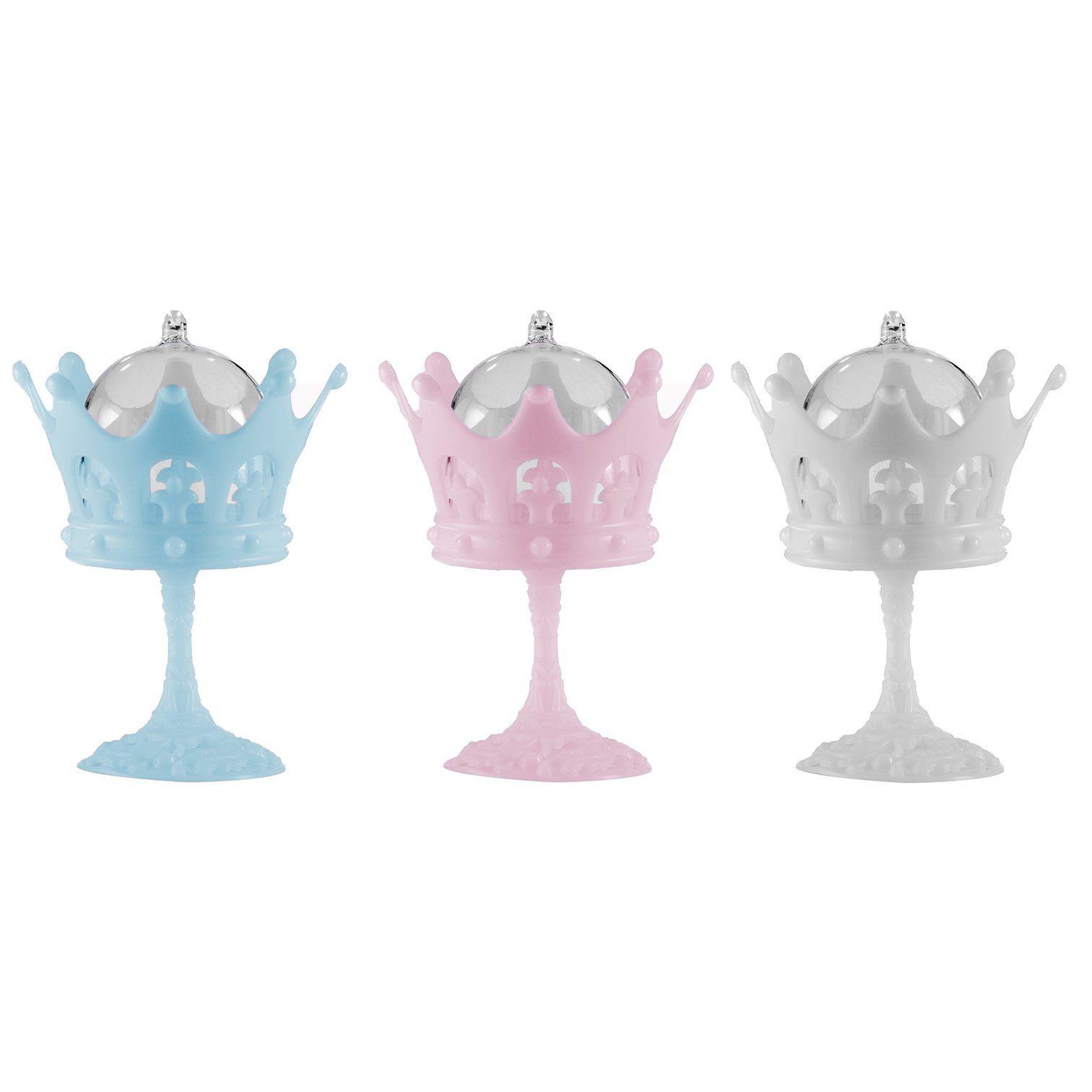 Cúpula Tacinha de Coroa kit com 12 unid