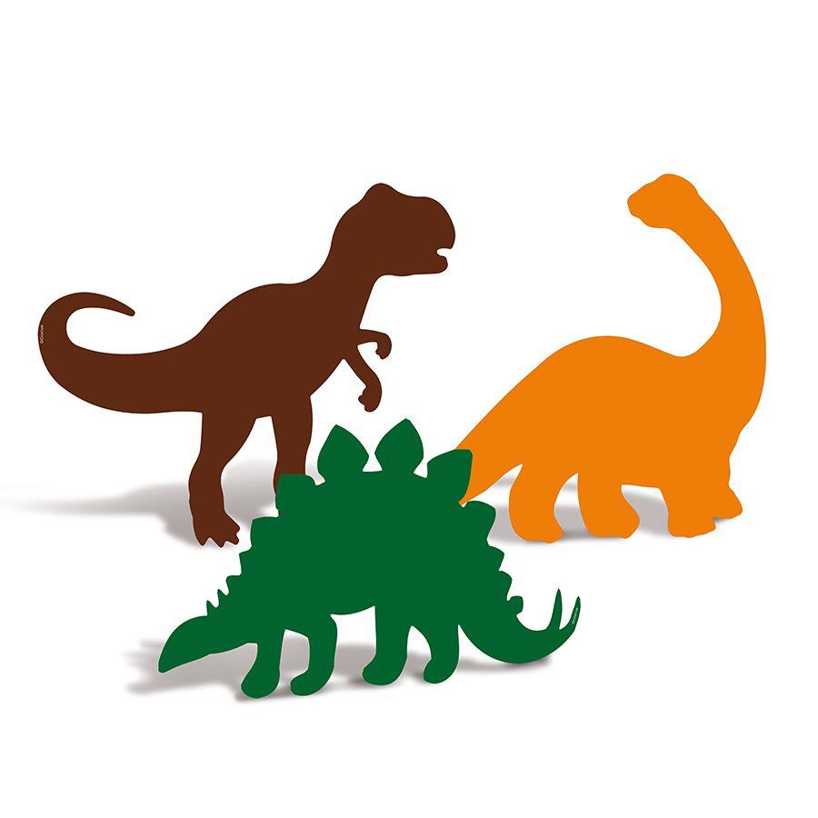 Decoração de Mesa de Festa Dinossauros kit com 4 unid