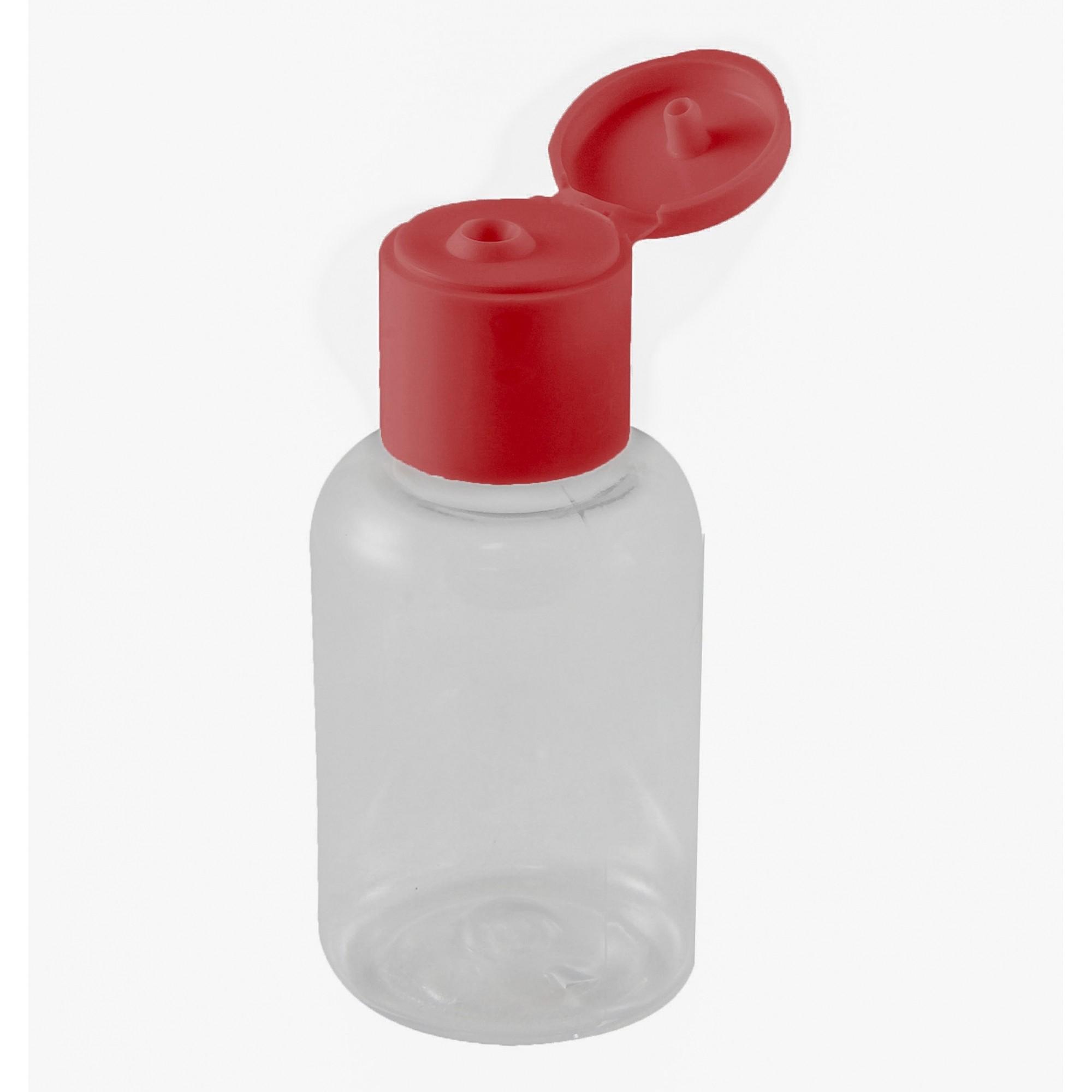 Embalagem para Álcool gel Lembrancinha 30 ml Flip Top kit 10 unid